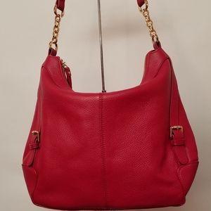 ORA DELPHINE Handbag Red JACQUELINE Hobo Bag